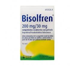 Bisolfren 200 mg/30 mg comprimidos recubiertos