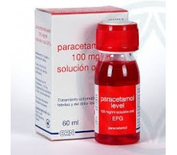 PARACETAMOL LEVEL EFG (100 MG/ML SOLUCION ORAL 60 ML )