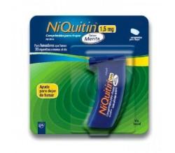 NIQUITIN (1.5 MG 60 COMPRIMIDOS PARA CHUPAR MENTA )