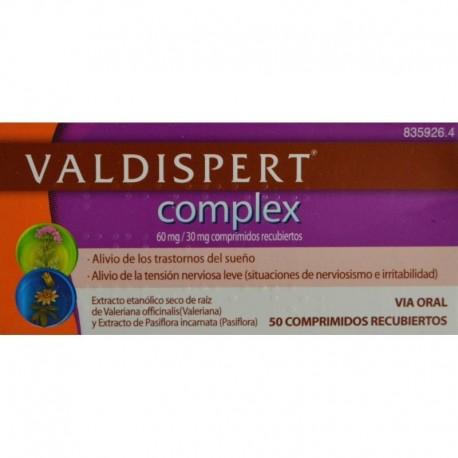 VALDISPERT COMPLEX (50 COMPRIMIDOS )