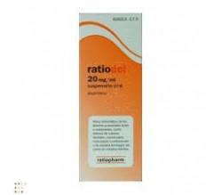 RATIODOL (20 MG/ML SUSPENSION ORAL 200 ML )