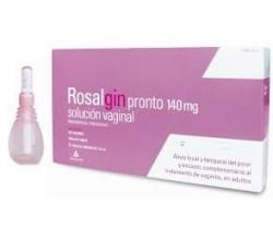 ROSALGIN PRONTO (140 MG SOLUCION VAGINAL 5 UNIDOSIS 140 ML )
